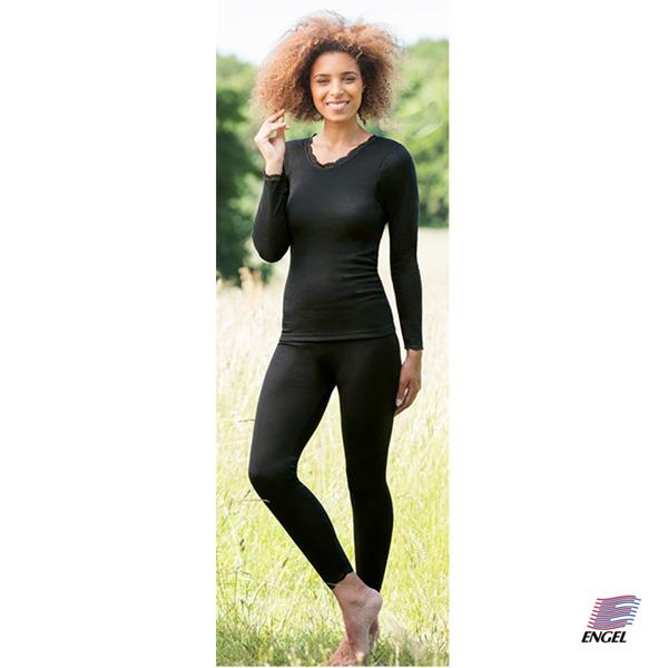 Skiunderbukser, sorte leggings i merino uld - pris 330. fås i grå eller sort.