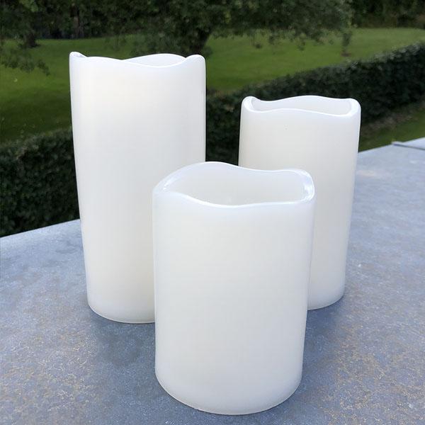 LED bloklys udendørs - 3 størrelser - tilbud