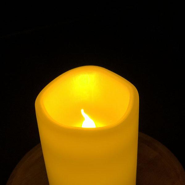 Udendørs LED lys med en smuk gul nuanceret varm farve