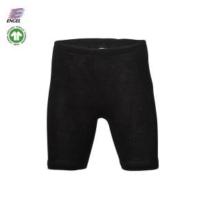 Uld shorts dame sort - økologisk uld kr. 299