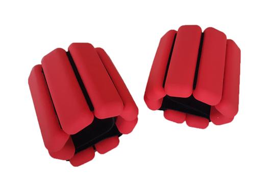 Træningsvægte til håndled eller ankler - 5 farver - 2 vægtklasser kr. 299
