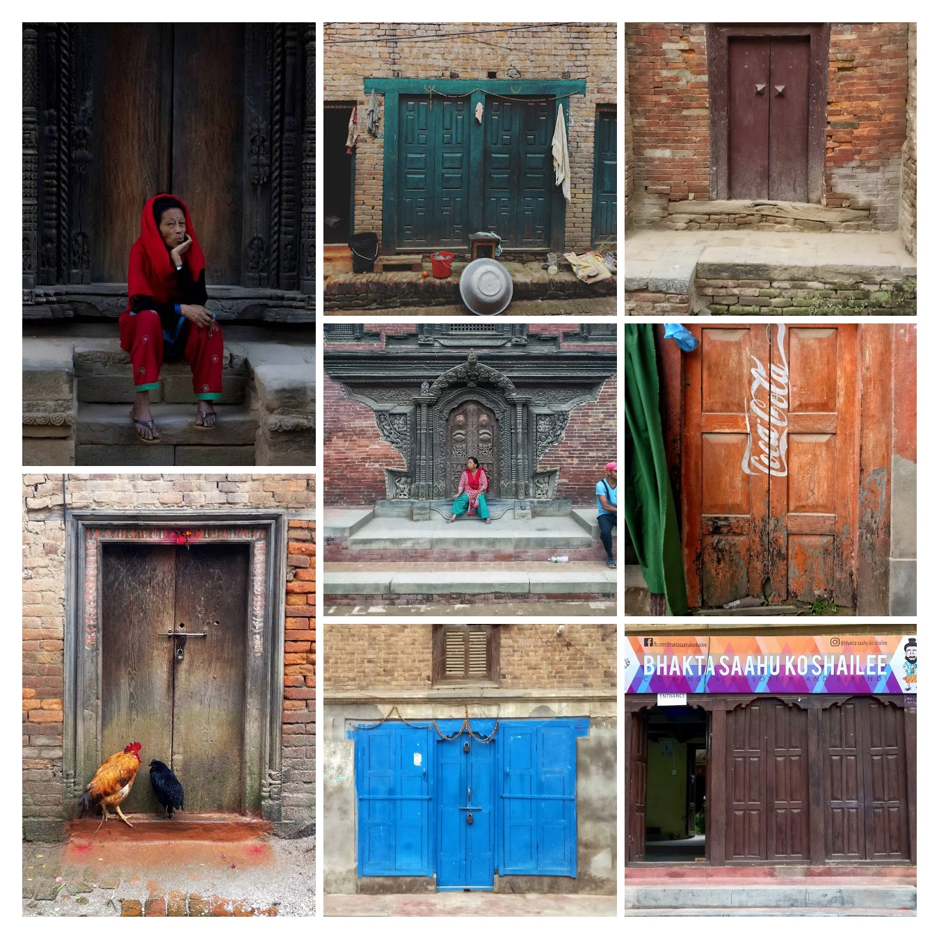 The Doors of Kathmandu in Arch Daily