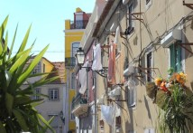 Lauydry in Lisbon