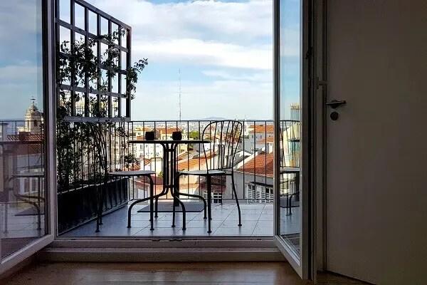 Treeace Lounge at Tings Lisbon -private terrace