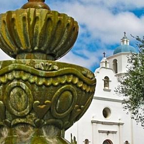 Missions-001-Old Mission San Luis Rey de Francia, Oceanside, CA