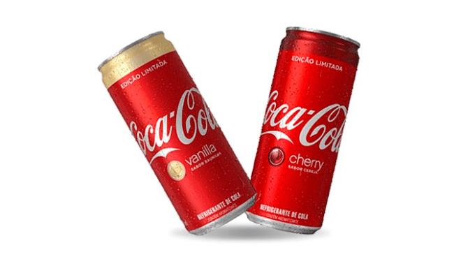 coca-cola vanilla cherry