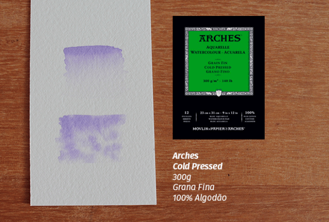 Arches 300g Coldpress Grana Fina