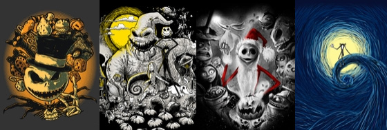 Threadless - Nightmare Before Christmas
