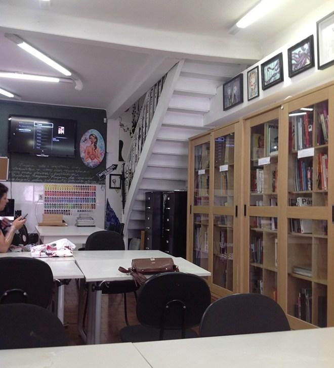 Sala ilustrada