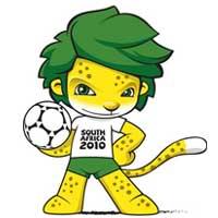 Zakumi Mascote da Copa 2010