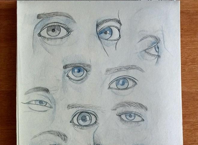 Estudos de olhos