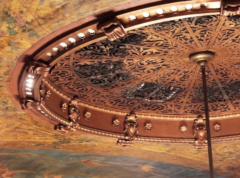 Teto do Teatro Amazonas.