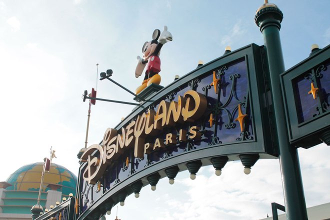Entrada da Disney Paris