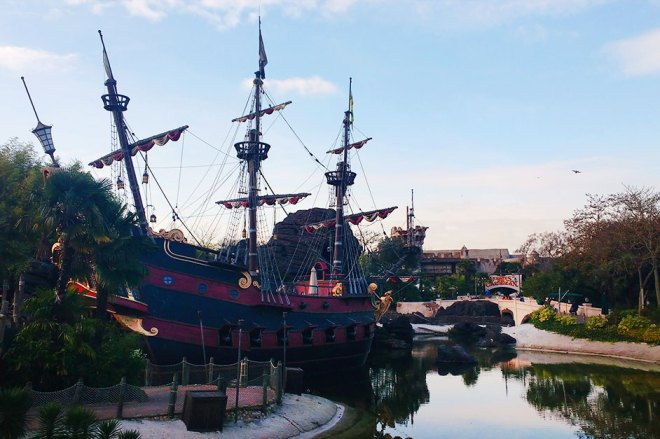 Piratas do Caribe - Disney Paris