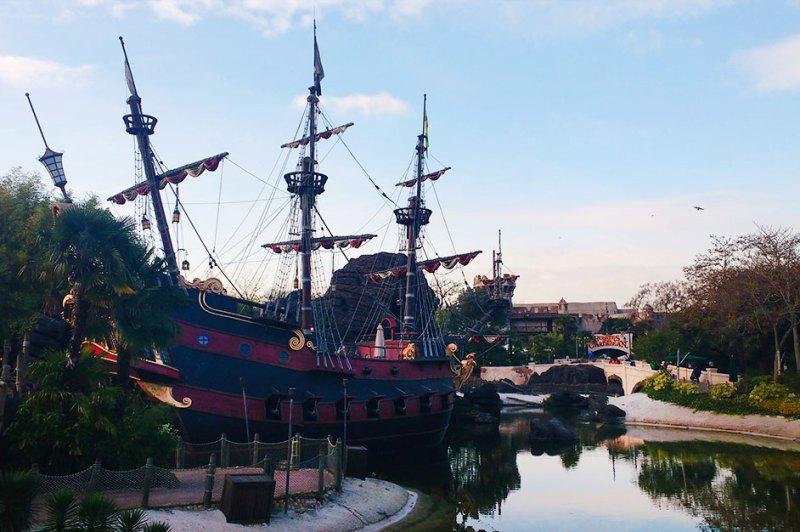 Piratas do Caribe - Disney Paris