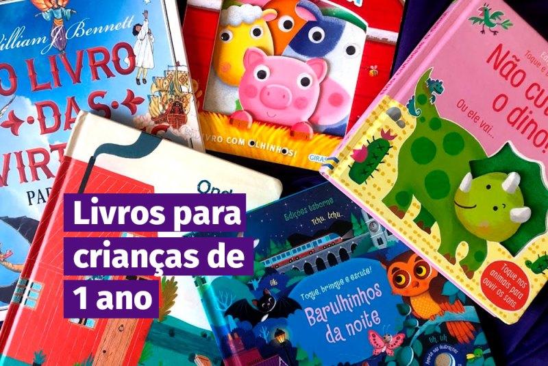 livros para crianças de 1 ano