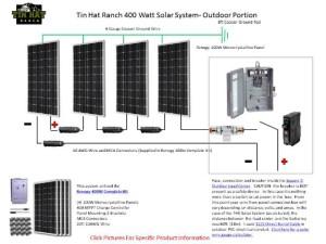 SNEAK PEEK: THR Renogy 400 Watt Solar System Schematic