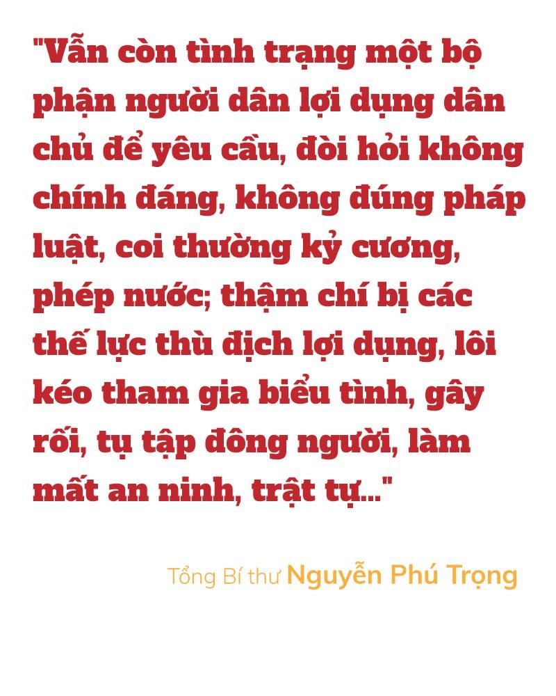 Tổng Bí thư Nguyễn Phú Trọng nói về dân chủ cơ sở - Ảnh 5.