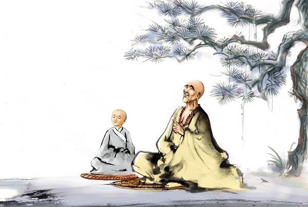 Image result for thiền sư và các học trò