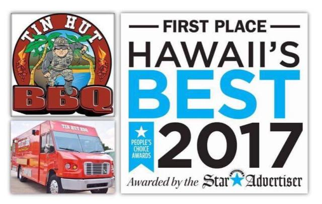 hawaiian bbq food truck
