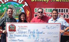 Tin Hut BBQ Supports Children's Miracle Network
