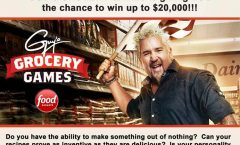 "Casting Call for ""Guy's Grocery Games"""