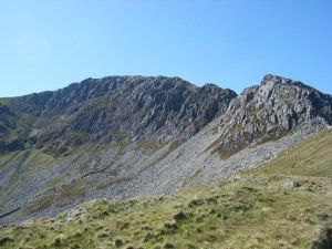Nantlle ridge to the north east