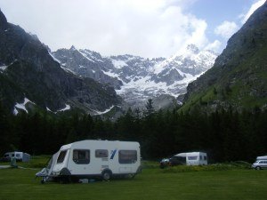 154 D4 camp at La Fouly