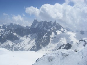 434 D13 on Aigulle du Midi
