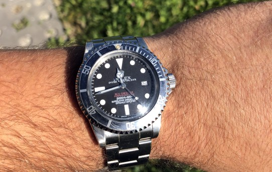 The Double Red Sea-dweller (ref 1665)