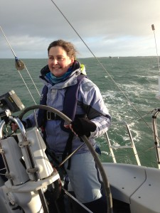 Christina Sailing Belfast Lough
