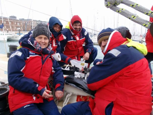 clipper race, crew training, winch maintenance, clipper 13-14 crew