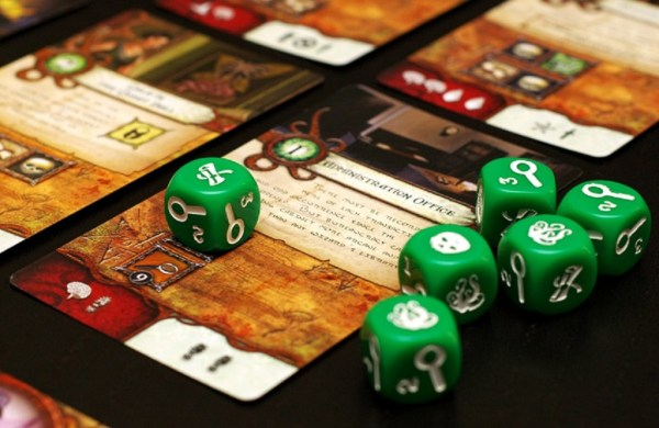 Elder Sign - hold on to those dice