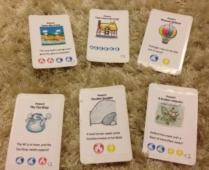 Prototype cards