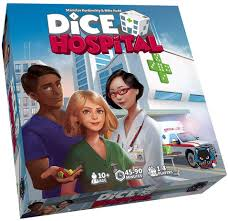 Alley Cats Games ALDICEHOS01 Dice Hospital, Mixed Colours: Amazon ...