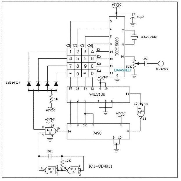 DTMF Encoder