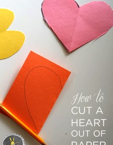 How to cut  heart out of paper also tinkerlab rh