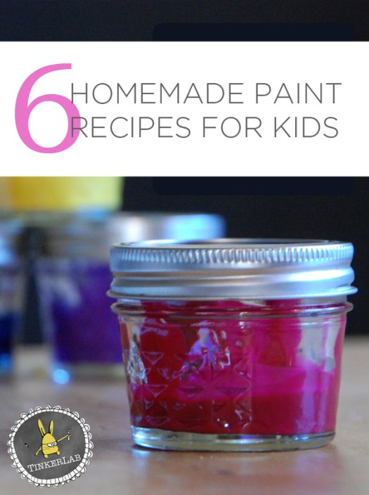 6 Favorite Homemade Paint Recipes For Kids Tinekerlab Com