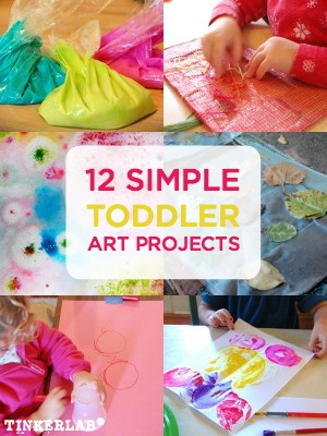 12 Art Projects For Toddlers Tinkerlab