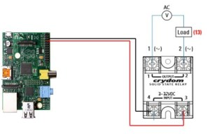 Topic: Raspberry Pi – Using Crydom D24XX Solid State Relay