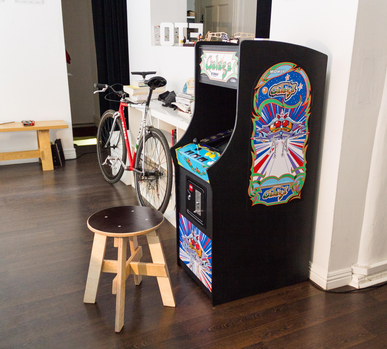Galaga Arcade Cabinet  tinkerlog