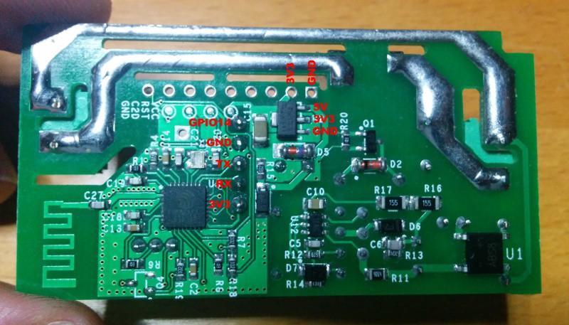 Antenna Relay Wiring Diagram Adding Rf To A Non Rf Itead Sonoff Tinkerman