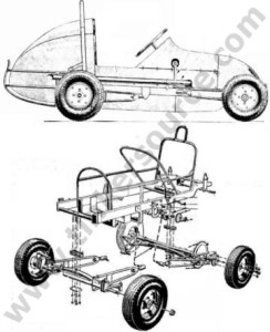 Micro Midget Race Car DIY kart plans for building a