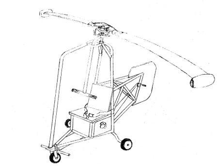 SJH-Osprey Homebuilt Helicopter Plans