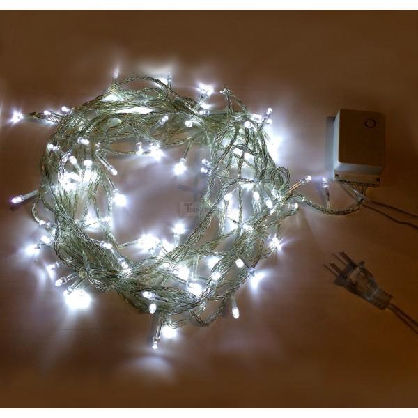 Bright White Christmas Lights