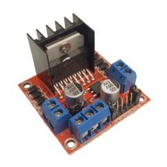L298 H Bridge Circuit Diagram Simple Volcano 7 99 Motor Driver 2a Dual Tinkersphere