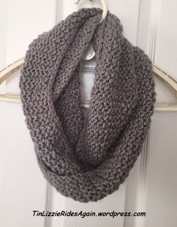 Infinity scarf without flash....