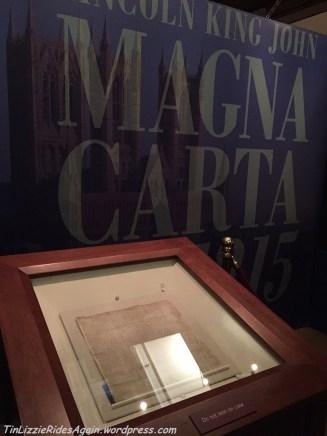 1215 Lincoln Cathedral Magna Carta