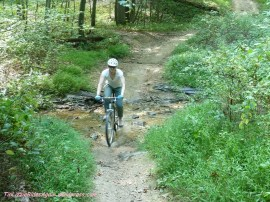Mountain biking!