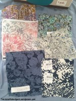 Floral Print Swatches